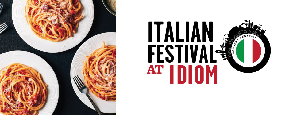 SAVE THE DATE- Italian Festival at Idiom Sat 03 & Sun 04 March 2018