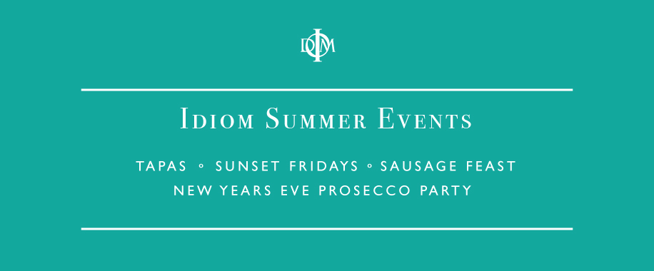 Idiom Summer Events Calendar