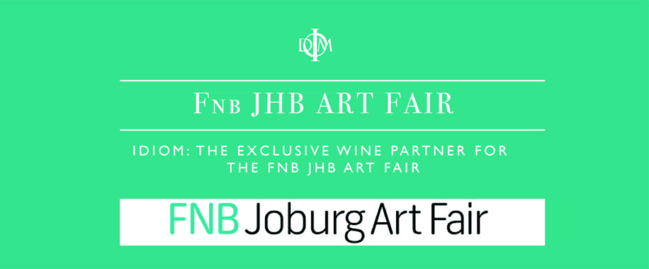 September 2018: Idiom: The exclusive wine partner of the FNB JHB Art Fair