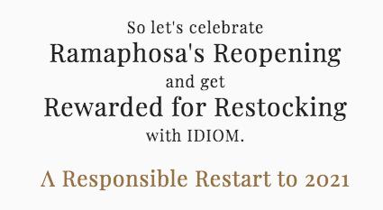 Feb 2021 Newsletter: Rewarded for Restocking